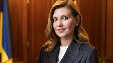 Photo of Ukrainian first lady tests positive of COVID-19