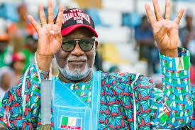 Photo of Akeredolu leads in two LGs at Ondo APC Primary