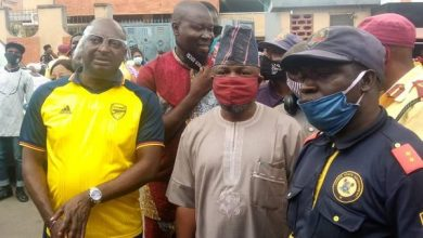 Photo of Helicopter Crash: Onigbongbo council boss visits scene, commiserate  with victims family