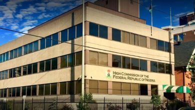 Photo of Nigerian High Commission Closes Embassy In Canada Idefinitely