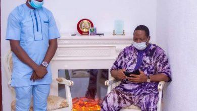 Photo of Gov Abiodun's aide, Lawal, seeks Ogun Speaker's support for Youths initiatives