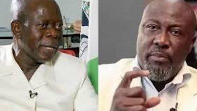 "Photo of Video: Deno Melaye calls Oshiomhole ""Osho Pikin"""