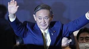 Photo of Yoshihide Suga Elected Japan's New Prime Minister
