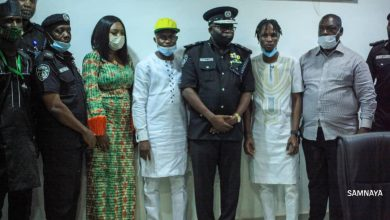 Photo of BB Naija star, Laycon visits Ogun CP, pleads against brutality of innocent youths