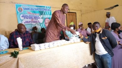 Photo of 5million Empowerment Fund: Baba Ile-Ogbo, Prince Adewale Bello, Olabinjo, Omisore, Ipaye, others hails Local Government Chairman