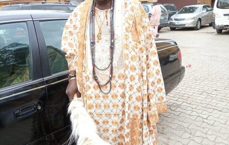 Baale of Alakuko Ajegunle Ilo, Prince Bolarinwa Adebayo popularly known as Baale Sarumo Dada