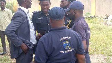 Photo of Lagos State Government inspects proposed fire service station in Ojokoro
