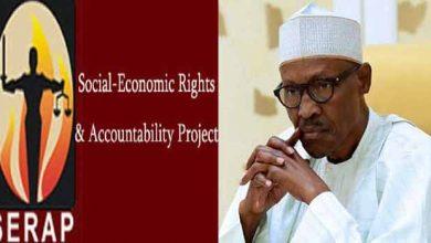 Photo of Recession: Cut Cost of Governance, SERAP Tells Buhari