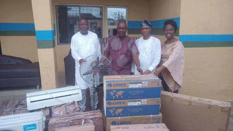 #ENDSARS: Lawmaker facelifts police station, donate furnitures