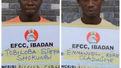 Photo of Impersonation: Two jailed by Abeokuta court for internet related frauds