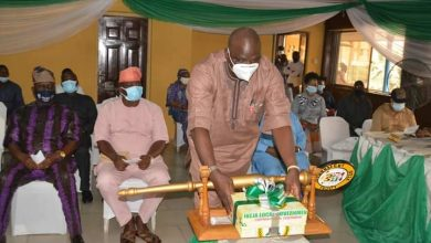 Photo of Budget Presentation: Ikeja Council Boss, Dr. Mojeed presents year 2021 budget