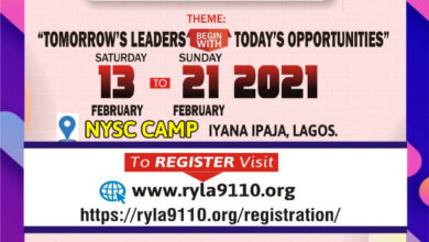 Photo of Rotary D9110 announces new date for RYLA 2020