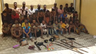 Photo of Lagos will be hot, police echo as it arrests 56 suspected cultists,armed rubbers