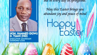 Photo of We must love one another as Christ loves the universe – HID Tijani urges constituents