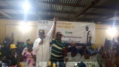 Photo of Ifako Ijaiye Agog as Hon Temitope, Ajumose Group Endorsed Hon. Prince Usman Akanbi Hamzat as the Choice for LG Chairmanship Election