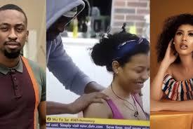 Photo of BBNaija S6: He has magic hands, Nini says as Saga massages her neck