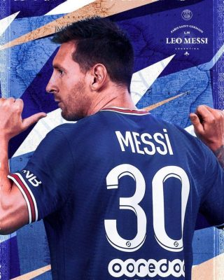 Photo of PSG unveils Lionel Messi in jersey number 30