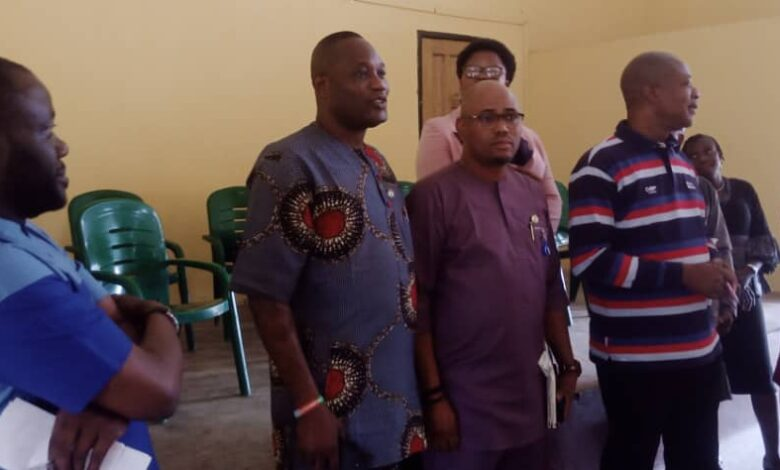 """Photo of """"Be committed and trustworthy"""", ojokoro council boss counsel revenue collectors"""