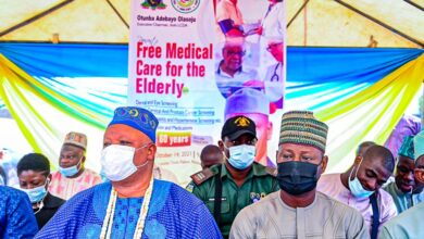 Photo of OLASOJU's CARE FOR THE ELDERLY KICKS OFF WITH OVER 1000 BENEFICIARIES