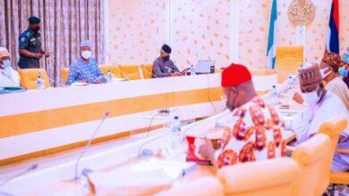 Photo of Vice President Osinbajo presides over FEC meeting